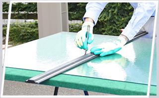 ガラス修理イメージ