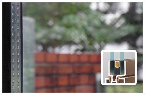 断熱ペアガラスへの交換イメージ