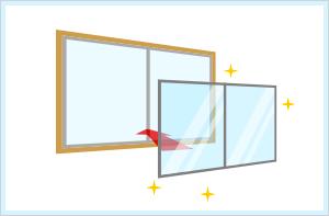 二重サッシ・二重窓イメージ